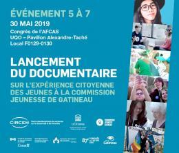 événement du CIRCEM – lancement de documentaire
