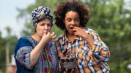La lesbienne et la noire