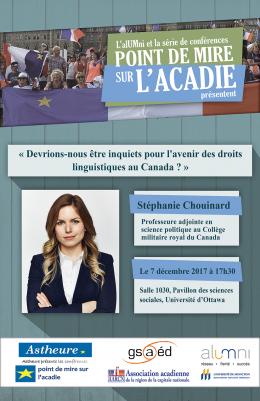 Affiche Stéphanie Chouinard