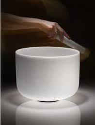A singing crystal bowl.