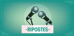 Logo de Ripostes.