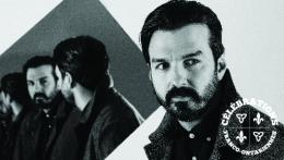 Photo rapprochée de Damien Robitaille.   Headshot of musician Damien Robitaille.
