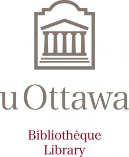 Logo de la bibliothèque (silhouette de l'édifice de Tabaret)