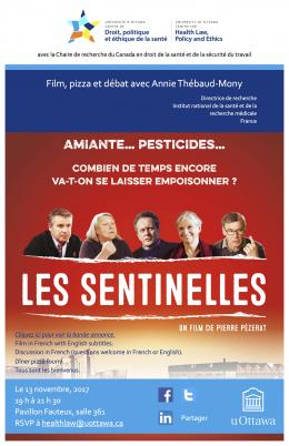 Affiche du documentaire Les sentinelles