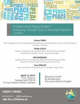 A Determined Peace Builder | Déterminé à consolider la paix