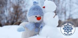 Photo de bonhomme de neige.
