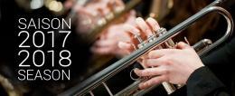 École de musique saison 2017-2018 School of Music season of events