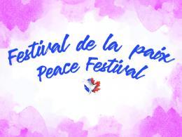 Festival de la paix. Peace Festival.