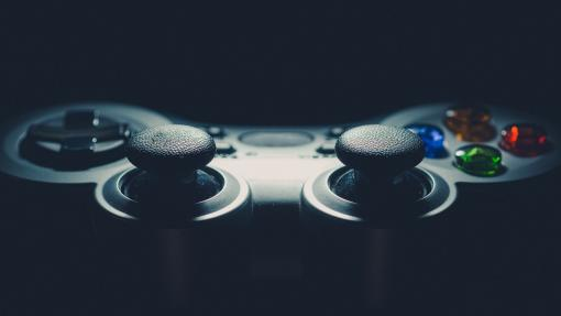 A video game controller.
