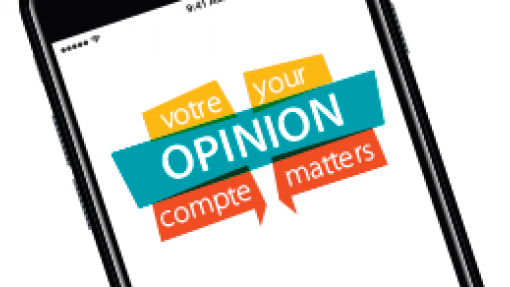 Votre opinion compte | Your opinion matter