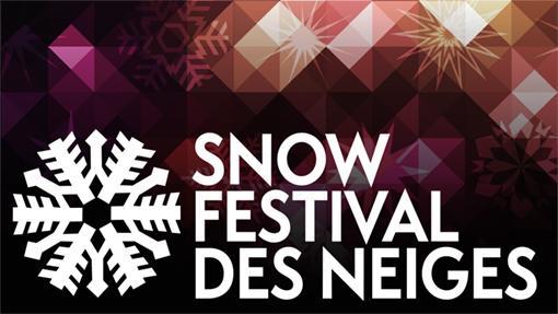 Snow Festival logo.
