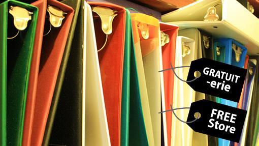 Free Store binders
