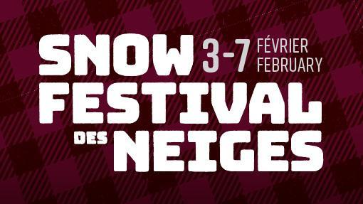 Logo du festival des neiges