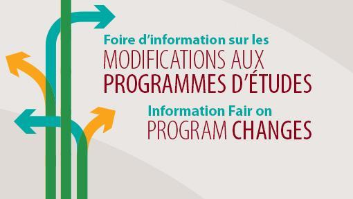 Information Fair on Program Changes